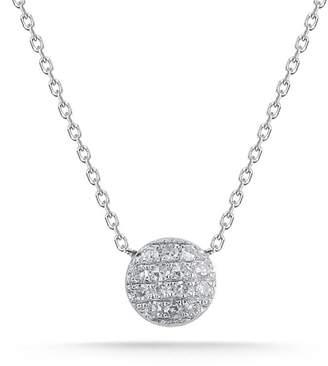 """Dana rebecca designs Dana Rebecca """"lauren Joy"""" Mini Diamond Disc Necklace"""