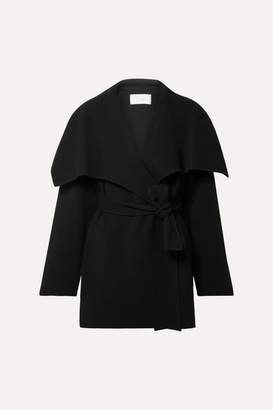 The Row Disa Oversized Wool-blend Felt Jacket - Black