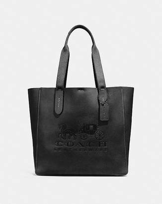 Coach Grove Tote With Horse And Carriage