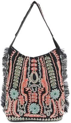 Antik Batik embroidered detail shoulder bag