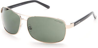 Tommy Hilfiger Gold-Tone Vasquez Sunglasses