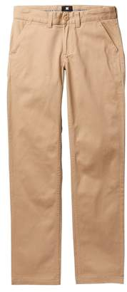 DC Workers Khaki Straight Pants (Big Boys)