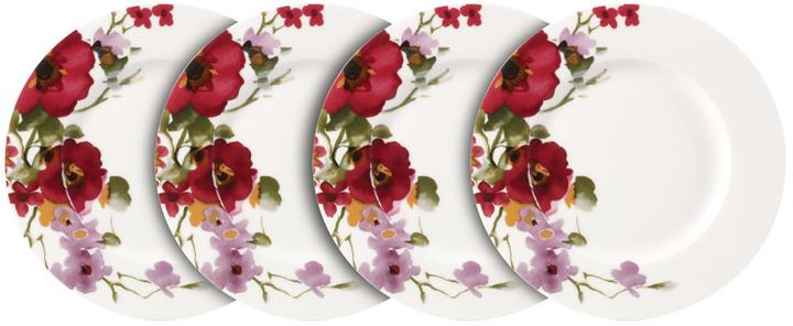 Garden Palette Bouquet Set of 4 Salad Plates
