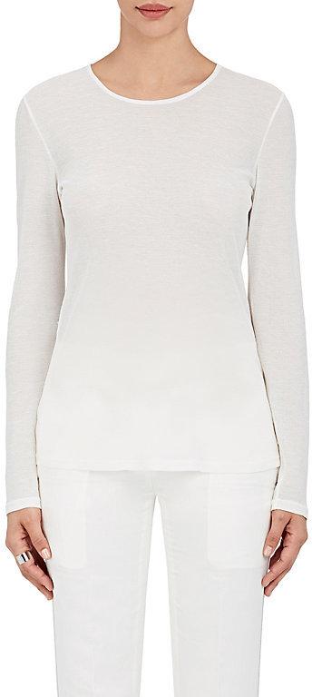 Calvin Klein Women's Gauze Long-Sleeve T-Shirt