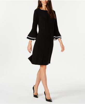 Charter Club Bell-Sleeve Shift Dress