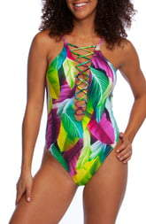 La Blanca Tropic Day One-Piece Swimsuit