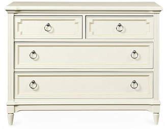 Stone & Leigh Clementine Court Single Dresser - White