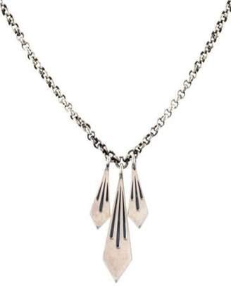 Elizabeth and James Pendant Necklace silver Pendant Necklace