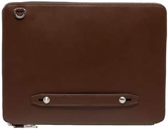 Co FAIRE LEATHER Bond Vt Everyday Padfolio Dark Brown