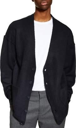 Topman Oversize Cardigan