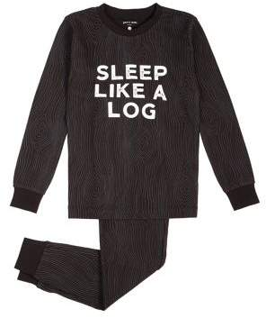 Petit Lem Little Boy s Cozy Cabin Two-Piece Pyjama Set f1adeeefe