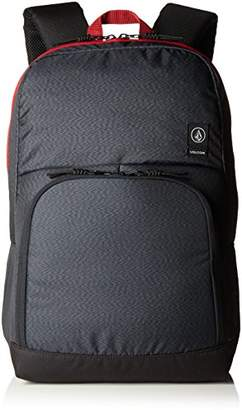 Volcom Roamer Backpack Rucksack, Unisex Adults' Backpack, Grau (Stealth), 16x32x47 cm (B x H T)