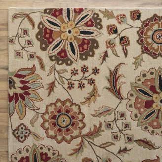 Birch Lane Jasmine Parchment Tufted Wool Area Rug