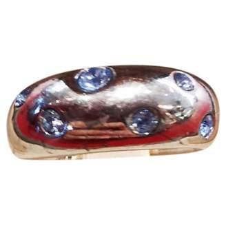 Saint Laurent Vintage Silver Silver Ring
