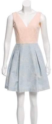 Paule Ka Textured Mini Dress