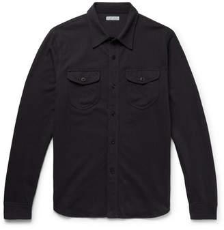 J.Crew Wallace & Barnes Herringbone Cotton Shirt