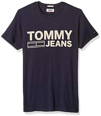 Tommy Hilfiger Men's Logo T-Shirt with Short Sleeves