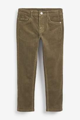 Next Boys Tan Cord Trousers (3-16yrs) - Brown