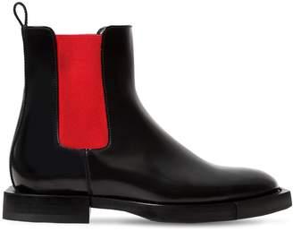 Alexander McQueen 10mm Leather Chelsea Boots