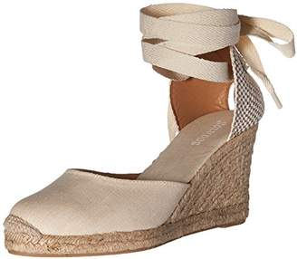 Soludos Women's Tall (90mm) Wedge Sandal