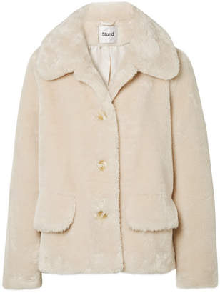 Off-White STAND Noemie Faux Fur Jacket