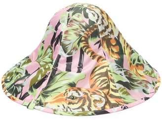 Kenzo tiger print sun hat