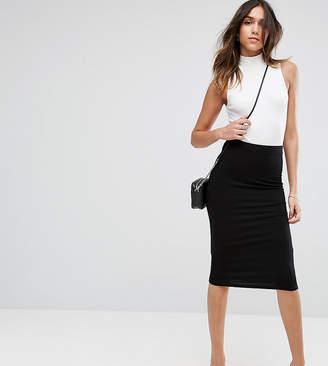 Asos Design DESIGN jersey pencil skirt