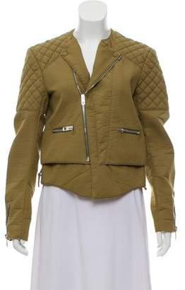 Balenciaga Quilted Moto Jacket