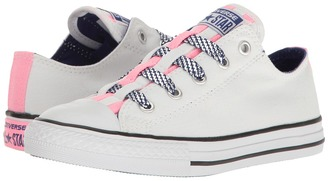 Converse Kids - Chuck Taylor All Star Loopholes Ox Girl's Shoes $40 thestylecure.com