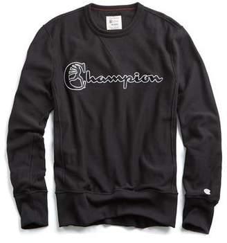Todd Snyder + Champion Champion Script Sweatshirt in Black