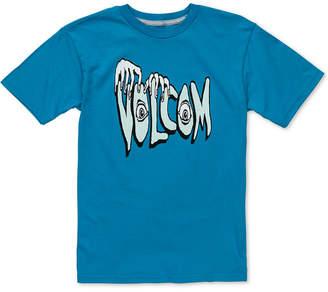 Volcom Little Boys Logo-Print Cotton T-Shirt
