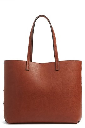 Chelsea28 Olivia Faux Leather Tote - Brown $69 thestylecure.com
