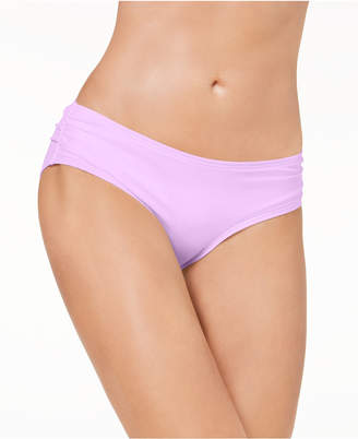 Carmen Marc Valvo Shirred Bikini Bottoms Women's Swimsuit
