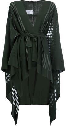 Balmain asymmetric kimono cardigan