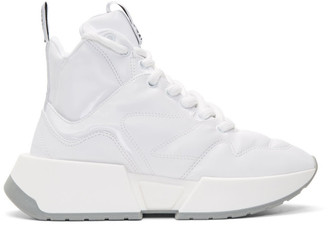 MM6 MAISON MARGIELA White Padded High-Top Sneakers