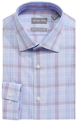 MICHAEL Michael Kors Slim Fit Striped Cotton Dress Shirt