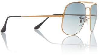 Bronze RB3561 square sunglasses