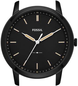 Fossil The Minimalist Slim Three-Hand Black Watch Case