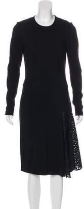 Stella McCartney Broderie Anglaise Midi Dress w/ Tags