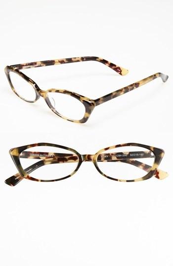 Corinne McCormack 'Roxy Camo Art Deco' 52mm Reading Glasses