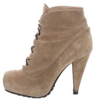 Proenza Schouler Lace-Up Platform Boots