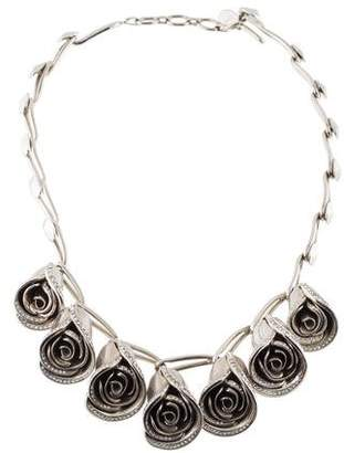 Christian Dior Diorissimo Seven Roses Necklace