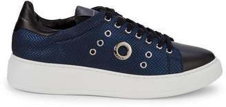 Alessandro Dell'Acqua Grommet Low-Top Sneakers