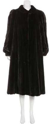 Revillon Mink Duster Coat