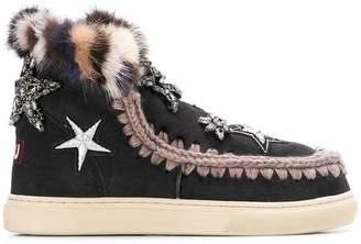 Mou embellished eskimo boots