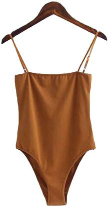 Goodnight Macaroon 'Eden' Cami Bodysuit (4 Colors)