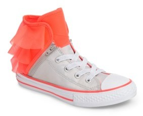 Infant Girl's Converse Block Party High Top Sneaker $44.95 thestylecure.com