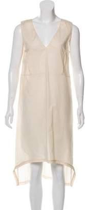 Marni High-Low Midi Dress