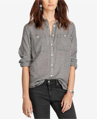 Denim & Supply Ralph Lauren Checked Utility Shirt $59.99 thestylecure.com