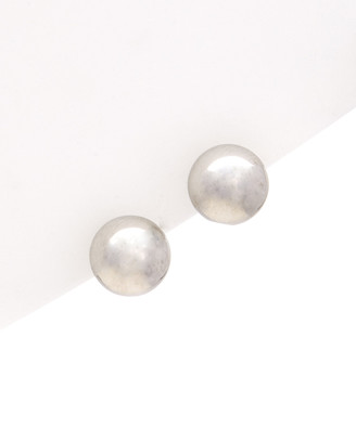 Italian Gold 14K Ball Stud Earrings